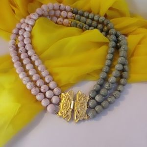 Vintage Two Tone Necklace